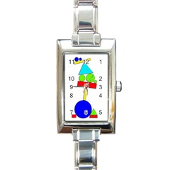 Balance  Rectangle Italian Charm Watch by Valentinaart