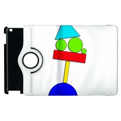 Balance  Apple Ipad 3/4 Flip 360 Case by Valentinaart