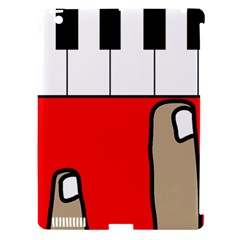 Piano  Apple Ipad 3/4 Hardshell Case (compatible With Smart Cover) by Valentinaart