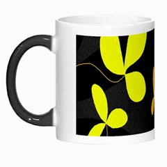 Floral Design Morph Mugs by Valentinaart