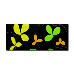 Floral Design Hand Towel by Valentinaart