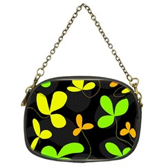 Floral Design Chain Purses (one Side)  by Valentinaart
