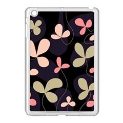 Elegant Floral Design Apple Ipad Mini Case (white) by Valentinaart