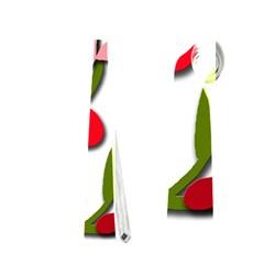 Floral Tree Neckties (two Side)  by Valentinaart