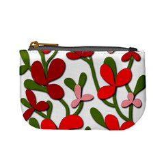 Floral Tree Mini Coin Purses by Valentinaart