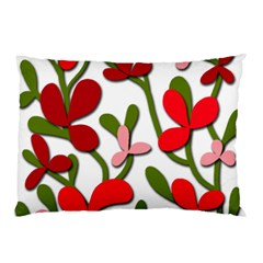 Floral Tree Pillow Case (two Sides)