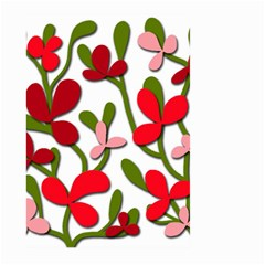 Floral Tree Large Garden Flag (two Sides) by Valentinaart