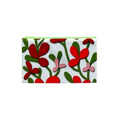 Floral Tree Cosmetic Bag (xs) by Valentinaart
