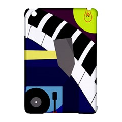 Hard Apple Ipad Mini Hardshell Case (compatible With Smart Cover) by Valentinaart