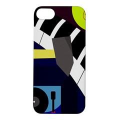 Hard Apple Iphone 5s/ Se Hardshell Case by Valentinaart