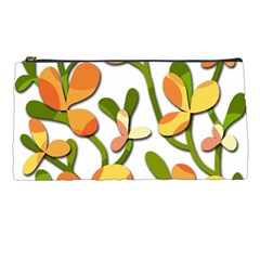 Decorative Floral Tree Pencil Cases by Valentinaart