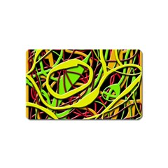 Snake Bush Magnet (name Card) by Valentinaart