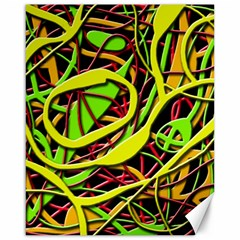 Snake Bush Canvas 16  X 20   by Valentinaart