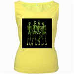 Adventure Time Cover Women s Yellow Tank Top