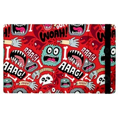 Agghh Pattern Apple Ipad 3/4 Flip Case by AnjaniArt