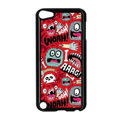 Agghh Pattern Apple Ipod Touch 5 Case (black) by AnjaniArt
