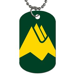 Flag Of Biei, Hokkaido, Japan Dog Tag (two Sides) by abbeyz71