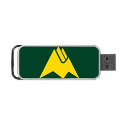 Flag Of Biei, Hokkaido, Japan Portable Usb Flash (two Sides) by abbeyz71