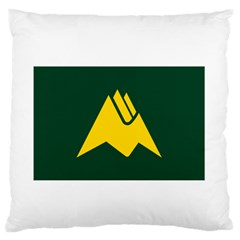Flag Of Biei, Hokkaido, Japan Standard Flano Cushion Case (two Sides) by abbeyz71