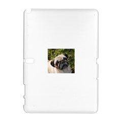 Pug Fawn Samsung Galaxy Note 10.1 (P600) Hardshell Case by TailWags