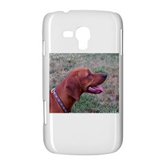 Redbone Coonhound Samsung Galaxy Duos I8262 Hardshell Case  by TailWags