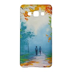 Park Nature Painting Samsung Galaxy A5 Hardshell Case  by Zeze