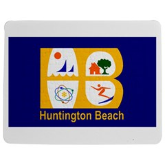 Flag Of Huntington Beach, California Jigsaw Puzzle Photo Stand (rectangular)