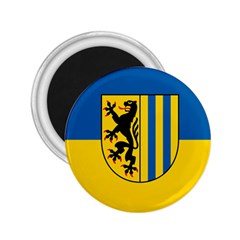 Flag Of Leipzig 2 25  Magnets