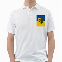 Flag Of Leipzig Golf Shirts