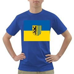 Flag Of Leipzig Dark T Shirt