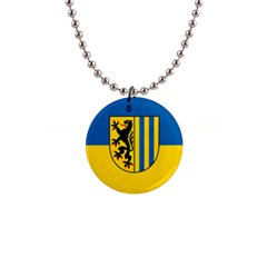 Flag Of Leipzig Button Necklaces