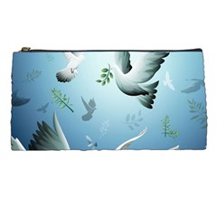 Animated Nature Wallpaper Animated Bird Pencil Cases by AnjaniArt