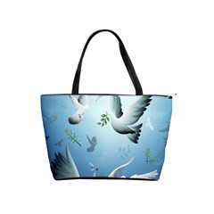Animated Nature Wallpaper Animated Bird Shoulder Handbags by AnjaniArt