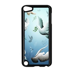 Animated Nature Wallpaper Animated Bird Apple Ipod Touch 5 Case (black) by AnjaniArt