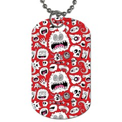Another Monster Pattern Dog Tag (two Sides) by AnjaniArt