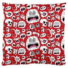 Another Monster Pattern Large Cushion Case (two Sides) by AnjaniArt