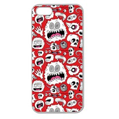 Another Monster Pattern Apple Seamless Iphone 5 Case (clear) by AnjaniArt
