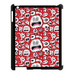 Another Monster Pattern Apple Ipad 3/4 Case (black) by AnjaniArt