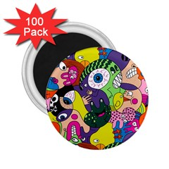 Another Weird Pattern 2 25  Magnets (100 Pack)  by AnjaniArt