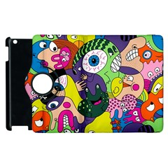 Another Weird Pattern Apple Ipad 3/4 Flip 360 Case by AnjaniArt