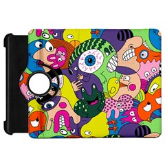 Another Weird Pattern Kindle Fire Hd Flip 360 Case by AnjaniArt