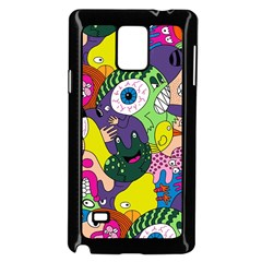 Another Weird Pattern Samsung Galaxy Note 4 Case (Black) by AnjaniArt