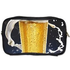 Beer 1 Toiletries Bags 2 Side by AnjaniArt