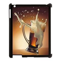 Beer Wallpaper Apple iPad 3/4 Case (Black) by AnjaniArt