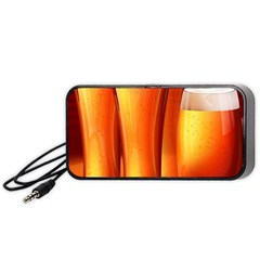 Beer Wallpaper Wide Portable Speaker (black)  by AnjaniArt
