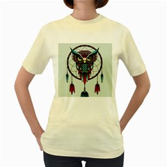Bird Women s Yellow T Shirt
