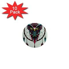 Bird 1  Mini Magnet (10 Pack)