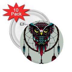 Bird 2 25  Buttons (10 Pack)