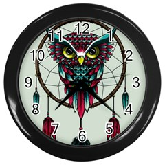 Bird Wall Clocks (black)