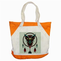Bird Accent Tote Bag by AnjaniArt